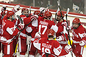 - The visiting Boston University Terriers defeated the Boston College Eagles 3-0 on Monday, January 16, 2017, at Kelley Rink in Conte Forum in Chestnut Hill, Massachusetts.