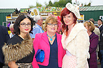 Enjoying Ladies Day at the Listowel Races on Friday were: Cathy Troth, Margaret Donoghue and Tara Donoghue from Firies