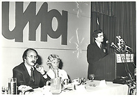 Guy Tardif au congres de l'UMQ, le 28 mars 1978<br /> <br /> <br /> PHOTO :  Agence Quebec Presse