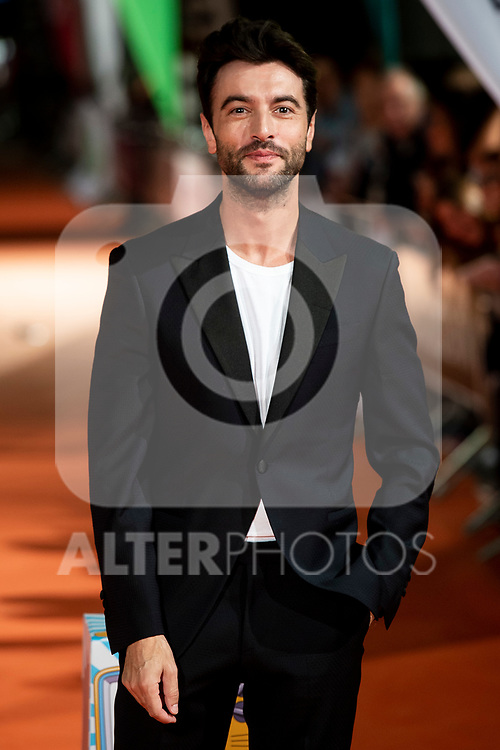 Actor Javier Rey attends to orange carpet of 'Velvet' during FestVal in Vitoria, Spain. September 04, 2018.(ALTERPHOTOS/Borja B.Hojas)