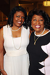 Caleen Allen and Karen Jackson at the Sisters Network's 2013 Pink Angel Celebration Luncheon & Style Show Sunday Oct. 13,2013.(Dave Rossman photo)
