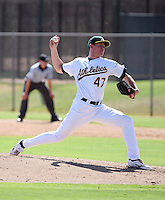 Murphy Smith - Oakland Athletics - 2010 Instructional League.Photo by:  Bill Mitchell/Four Seam Images..