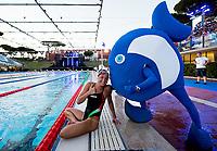 Elena Di Liddo ITA Italy and mascotte<br /> day 01  08-08-2017<br /> Energy For Swim<br /> Rome  08 -09  August 2017<br /> Stadio del Nuoto - Foro Italico<br /> Photo Deepbluemedia/Insidefoto
