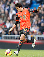 Real Sociedad's Ruben Pardo during La Liga match.January 31,2015. (ALTERPHOTOS/Acero) /NortePhoto<br />