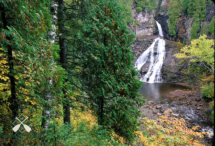 &quot;Scenic Caribou River Falls&quot;<br />