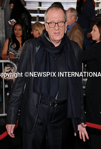 """GEOFFREY RUSH.attends World Premiere of """"Pirates of the Caribbean: On Stranger Tides"""" held at Disneyland Anaheim, California_07/05/2011. .Mandatory Photo Credit: ©Crosby/Newspix International..**ALL FEES PAYABLE TO: """"NEWSPIX INTERNATIONAL""""**..PHOTO CREDIT MANDATORY!!: NEWSPIX INTERNATIONAL(Failure to credit will incur a surcharge of 100% of reproduction fees)..IMMEDIATE CONFIRMATION OF USAGE REQUIRED:.Newspix International, 31 Chinnery Hill, Bishop's Stortford, ENGLAND CM23 3PS.Tel:+441279 324672  ; Fax: +441279656877.Mobile:  0777568 1153.e-mail: info@newspixinternational.co.uk"""