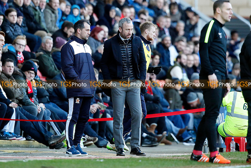 Shaun Derry during Leyton Orient vs Cambridge United, Sky Bet League 2 Football at the Matchroom Stadium, London, England on 30/01/2016