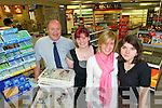 LAST DAY: Staff of Fairies Cross filling station and shop on their last day of trading on Friday. L-r: Larry Dawson, Tanya O'Connor, Amy O'Halloran and Maggie Seczac.   Copyright Kerry's Eye 2008