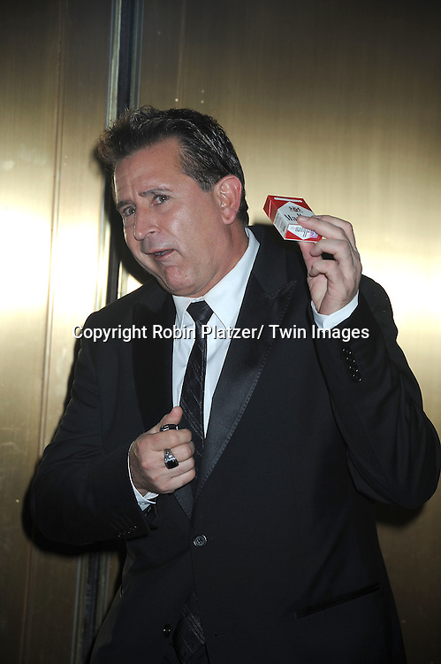 Anthony LaPaglia arriving at The 61st Annual Tony Awards on June 13, 2010 at Radio City Music Hall in New York City.
