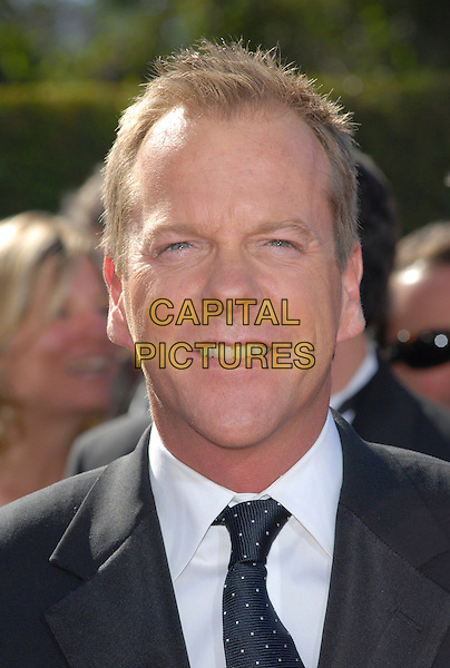 KIEFER SUTHERLAND.58th Annual Primetime Emmy Awards held at the Shrine Auditorium, Los Angeles, California, USA..August 27th, 2006.Ref: ADM/CH.headshot portrait .www.capitalpictures.com.sales@capitalpictures.com.©Charles Harris/AdMedia/Capital Pictures.