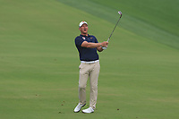 Shaun Norris (RSA) on the 3rd fairway during Round 1 of the Omega Dubai Desert Classic, Emirates Golf Club, Dubai,  United Arab Emirates. 24/01/2019<br /> Picture: Golffile | Thos Caffrey<br /> <br /> <br /> All photo usage must carry mandatory copyright credit (&copy; Golffile | Thos Caffrey)
