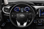Car pictures of steering wheel view of a 2017 Toyota Hilux Comfort 2 Door Pickup Steering Wheel