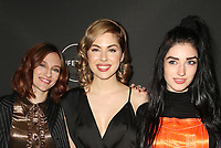 WEST HOLLYWOOD, CA - JANUARY 9: Aubrey Peeples, Sarah Dugdale, Morgan Taylor Campbell, at the Lifetime Winter Movies Mixer at Studio 4 at The Andaz Hotel in West Hollywood, California on January 9, 2019. Credit:Faye Sadou/MediaPunch