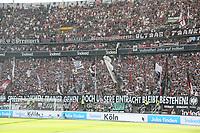 Choreo der Eintracht Fans zum Abgang von Trainer Niko Kovac - 05.05.2018: Eintracht Frankfurt vs. Hamburger SV, Commerzbank Arena, 33. Spieltag Bundesliga