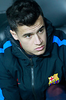 FC Barcelona's Philippe Coutinho during Spanish King's Cup Semi Final 2nd match. February 8,2018. (ALTERPHOTOS/Acero)