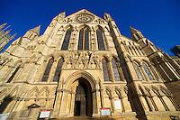 York Minster exterior, England
