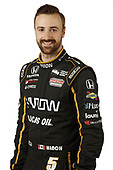 2018 IndyCar Media Day - Driver portraits<br /> Phoenix Raceway, Avondale, Arizona, USA<br /> Wednesday 7 February 2018<br /> James Hinchcliffe, Schmidt Peterson Motorsports Honda<br /> World Copyright: Michael L. Levitt<br /> LAT Images<br /> ref: Digital Image