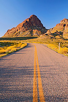 Route 66 in the Black Mountains, near Oatman Arizona