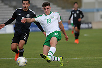 Simon Power of Norwich City and Republic of Ireland takes a shot at the Mexican goal during Republic Of Ireland Under-21 vs Mexico Under-21, Tournoi Maurice Revello Football at Stade Parsemain on 6th June 2019