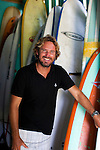 Zed Layson was born and raised on the island of Barbados: he is 5th generation Barbadian. Zed began surfing at the age of 7 and has traveled the world as a competitive surfer for more than 24 years.  He now owns and operates surf shops in Oistins and Surfer's Point in Barbados.