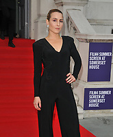 """LONDON, ENGLAND - AUGUST 08: Noomi Rapace at the """"Pain and Glory"""" Film4 Summer Screen opening gala & launch party, Somerset House, The Strand, on Thursday 08 August 2019 in London, England, UK.<br /> CAP/CAN<br /> ©CAN/Capital Pictures"""