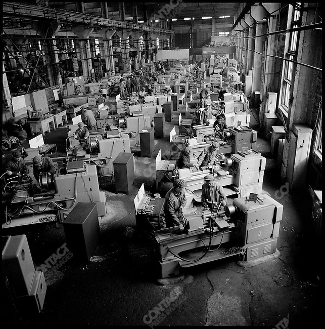 Machine tool factory, Qiqihaer, Heilongjiang province, May 23, 1974.