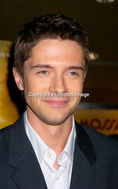 """Topher Grace..at the New York Premiere of """"ps"""" on October 12, 2004 ..at the Clearview Chelsea West. ..Photo by Robin Platzer, Twin Images"""