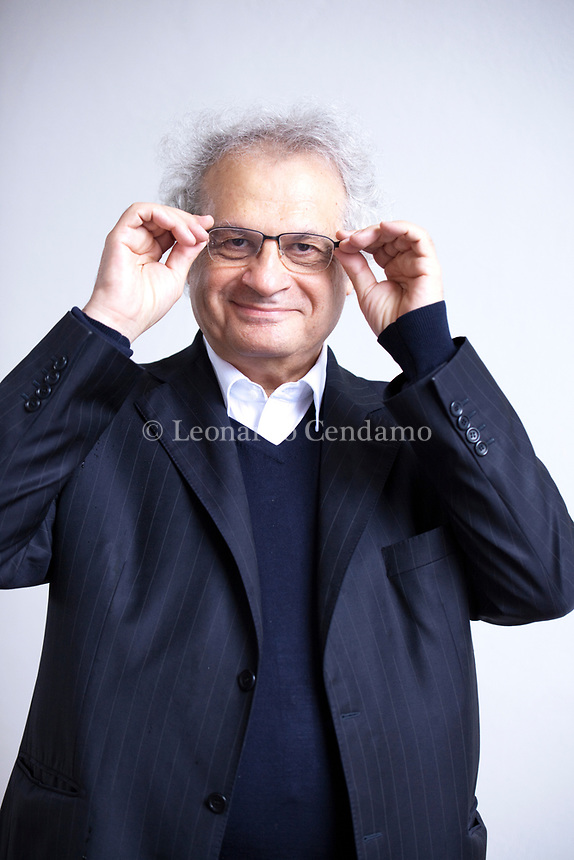 Amin Maalouf è un giornalista e scrittore libanese naturalizzato francese. Mantova 6 settembre 2019. Photo Leonardo Cendamo/GettyImages