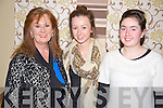Pictured at the Kerry School of Music concert in the Malton hotel, Killarney on Sunday night were Batty and Liz Stack with Aoife Healy, Listowel.