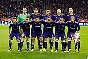 September 12th 2017, Munich, Germany, Champions League football, Bayern Munich versus Anderlecht;  The team line-up for Rsc Anderlecht