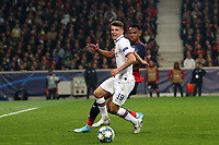 Mason Mount of Chelsea and  Luiz Araujo of Lille OSC during Lille OSC vs Chelsea, UEFA Champions League Football at Stade Pierre-Mauroy on 2nd October 2019