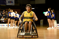 Opening Ceremony - Jayden Warn (Aus)<br /> Australian Wheelchair Rugby Team<br /> 2018 IWRF WheelChair Rugby <br /> World Championship / Day 1<br /> Sydney  NSW Australia<br /> Sunday 5th August 2018<br /> &copy; Sport the library / Jeff Crow / APC