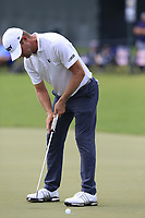 Lucas Gover (USA) putts on the 18th green during Friday's Round 2 of the 2017 PGA Championship held at Quail Hollow Golf Club, Charlotte, North Carolina, USA. 11th August 2017.<br /> Picture: Eoin Clarke | Golffile<br /> <br /> <br /> All photos usage must carry mandatory copyright credit (&copy; Golffile | Eoin Clarke)