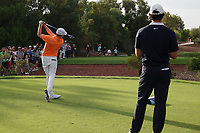 Matthew Fitzpatrick (ENG) during the first round of the DP World Championship, Earth Course, Jumeirah Golf Estates, Dubai, UAE. 21/11/2019<br /> Picture: Golffile | Phil INGLIS<br /> <br /> <br /> All photo usage must carry mandatory copyright credit (© Golffile | Phil INGLIS)