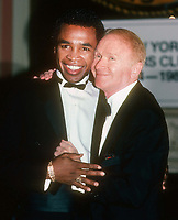 Sugar Ray Leonard Red Buttons 1983<br /> Photo By Adam Scull/PHOTOlink.net