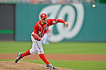 2 September 2012: Washington Nationals' pitcher Sean Burnett on the mound against the St. Louis Cardinals at Nationals Park in Washington, DC. The Nationals edged out the visiting Cardinals 4-3, capping their 4-game series with three wins. Mandatory Credit: Ed Wolfstein Photo