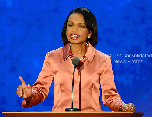 Former United States Secretary of State Condoleezza Rice makes remarks at the 2012 Republican National Convention in Tampa Bay, Florida on Wednesday, August 29, 2012.  .Credit: Ron Sachs / CNP.(RESTRICTION: NO New York or New Jersey Newspapers or newspapers within a 75 mile radius of New York City)