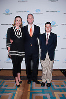Jill Contreras, Luis Contreras, and TJ Sherrell attend The Boys and Girls Club of Miami Wild About Kids 2012 Gala at The Four Seasons, Miami, FL on October 20, 2012