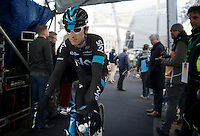 Geraint Thomas (GBR/SKY) on the start podium<br /> <br /> 99th Ronde van Vlaanderen 2015