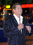 Click - Gala Celebrity Premiere held at the Empire, Leicester Square, London, England. Picture shows David Hasselhoff