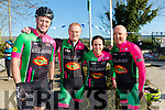 At the Annual Le tour de Ballyfinnane on Saturday were Killarney Cycle Club Tony Dunne, Mike O'Leary, Pat Leen and Brendan Casidy