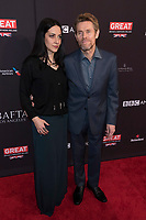 Willem Dafoe and Giada Colagrande attend the BAFTA Los Angeles Awards Season Tea Party at Hotel Four Seasons in Beverly Hills, California, USA, on 06 January 2018. Photo: Hubert Boesl - NO WIRE SERVICE - Photo: Hubert Boesl/dpa /MediaPunch ***FOR USA ONLY***