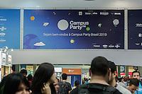 SÃO PAULO, SP. 07.02.2015 -  CAMPUS PARTY -Movimentação na oitava edição da Campus Party na tarde deste sábado, (7). (Foto: Renato Mendes / Brazil Photo Press)