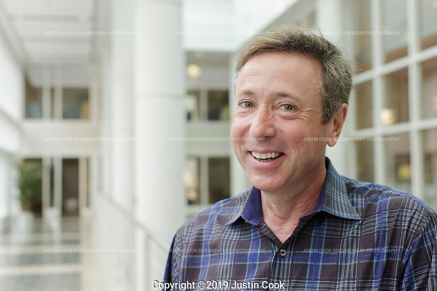 Portraits at Duke University's Fuqua School of Business in Durham, North Carolina, Friday, May 3, 2019  (Justin Cook)