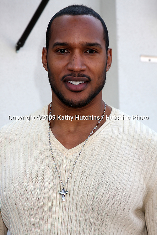 Henry Simmons   arriving at the 7th Annual John Varvatos Stuart House Benefit at the John Varvatos Store in West Hollywood, CA  on.March 8, 2009.©2009 Kathy Hutchins / Hutchins Photo...                .