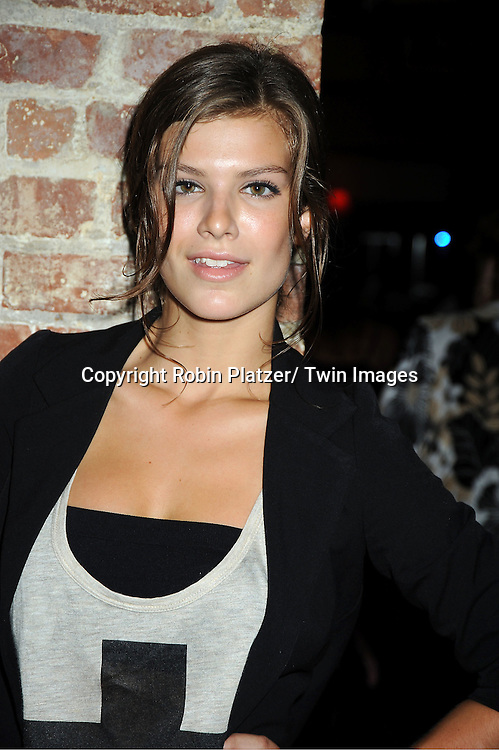 actress Kelley Missal attending the Shenell Edmonds Fan Club Dance Party on ..August 14, 2011 at HB Burger's Sunken Bar in New York City. Shenell plays Destiny Evans on One Life to Live.