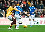 Motherwell v St Johnstone&hellip;20.10.18&hellip;   Fir Park    SPFL<br />Chris Kane and Charles Dunne<br />Picture by Graeme Hart. <br />Copyright Perthshire Picture Agency<br />Tel: 01738 623350  Mobile: 07990 594431