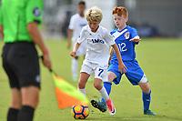 Frisco, TX - October 20, 2017: The U.S. Soccer Development Academy 2017 U-13/U-14 Central Regional Showcase at Toyota Soccer Center.