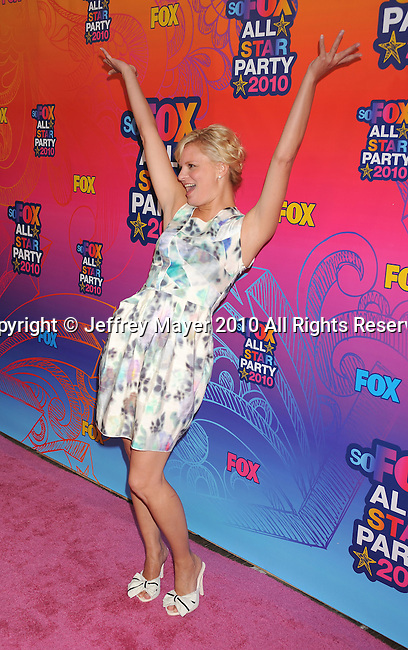 SANTA MONICA, CA. - August 02: Martha Plimpton arrives at the FOX 2010 Summer TCA All-Star Party at Pacific Park - Santa Monica Pier on August 2, 2010 in Santa Monica, California.