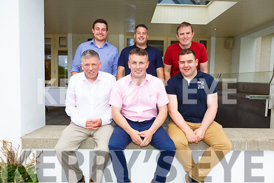 At the Dairymaster 50th Anniversary BBQ in the Ballygarry Hotel on Sunday.<br /> Seated l-r, Liam Leen, Pat Ryan and Ciaran O'Sullivan.<br /> Back l-r, Niall O'Hanlon, Pat Hernan and Ger Corcoran.